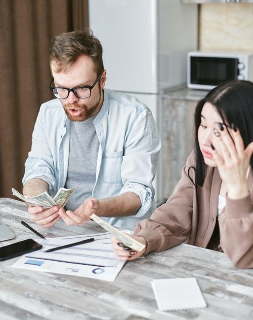 5 вещей, которые нельзя делать при возникновении денежных трудностей